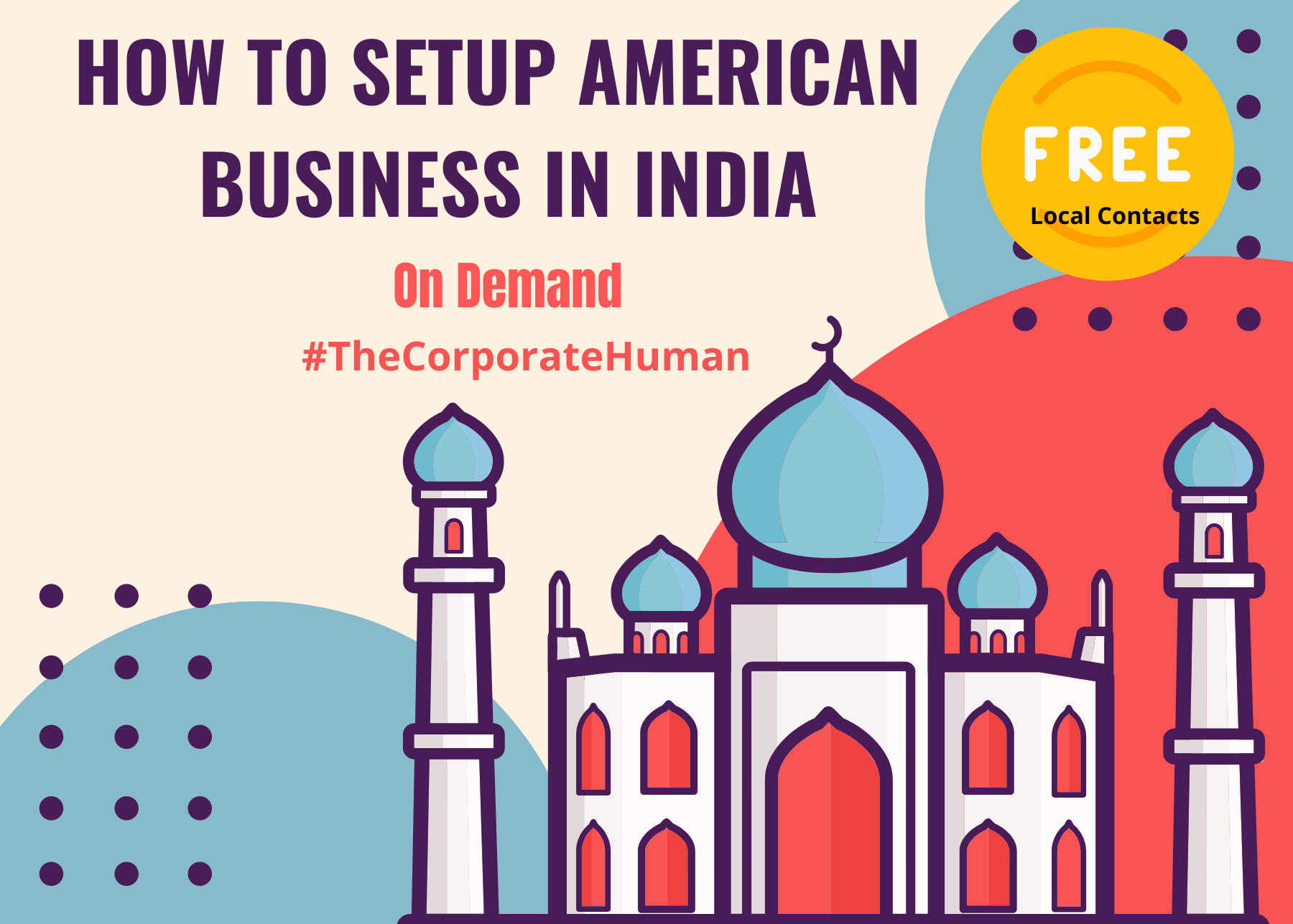 How to setup an American business in India (On Demand)